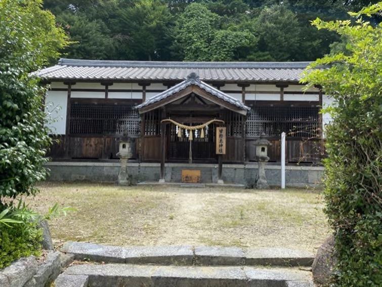 盟神探湯の行われた場所、甘樫坐神社はひっそりと佇んでいた